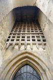 被加强的教会在Mosna 免版税库存图片