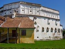 被加强的教会在Prejmer,罗马尼亚 库存图片