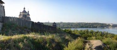 被加强的解决乌克兰人哥萨克人 免版税库存照片