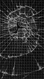 被加强被打碎的玻璃 免版税库存图片