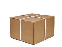 被包的纸板箱 免版税库存图片