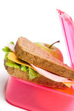 被包装的午餐 免版税图库摄影