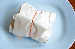 被包装的午餐 免版税库存图片