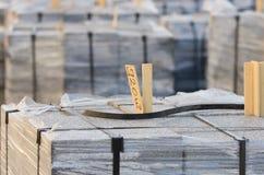被包装的石头块 免版税图库摄影
