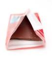 被包裹的棒巧克力 免版税库存照片
