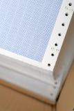 被包围的纸打印机 免版税库存照片