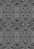 被卷入的迷宫无缝的背景纹理 免版税库存照片