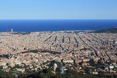 被卸下的市巴塞罗那 库存图片