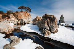 被反射的海岛2 免版税库存照片