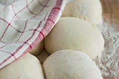 被发酵的大面包 库存图片