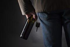 被喝的驱动器 免版税图库摄影