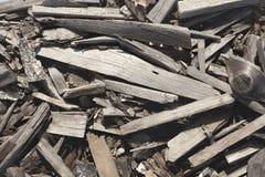 被回收的木纹理 库存照片