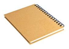 被回收的笔记本纸张 免版税库存图片