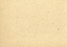 被回收的米黄纸张 免版税库存照片