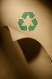 被回收的纸张 免版税库存图片