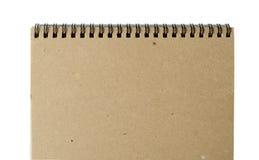 被回收的纸笔记本 库存照片