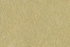 被回收的纸纹理背景苍白Tan米黄乌贼属织地不很细宏观特写镜头水平的秸杆自然毛谷拷贝空间 库存图片