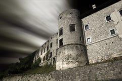 被困扰的城堡 库存图片