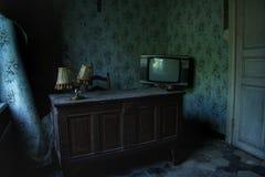被困扰的房子办公室 库存照片