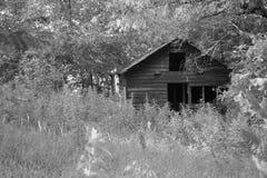 被困扰的房子 免版税库存照片