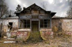 被困扰的房子 免版税库存图片