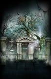 被困扰的新奥尔良公墓 库存照片