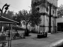 被困扰的被放弃的大厦 图库摄影