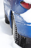 被埋没的雪 免版税库存图片