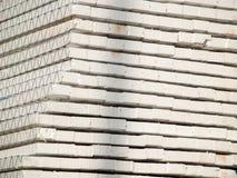被堆的干式墙 免版税库存图片