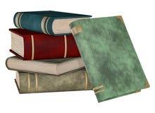 被堆积的书 免版税库存图片