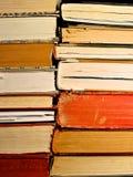 被堆积的书 库存图片