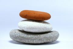 被堆积的岩石 免版税图库摄影