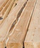 被堆积的木料 图库摄影