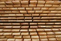 被堆积的木材 库存照片