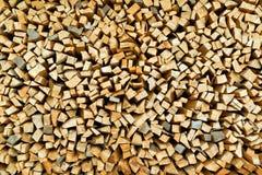 被堆积的木柴日志 免版税图库摄影