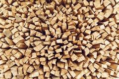 被堆积的木柴日志 免版税库存图片