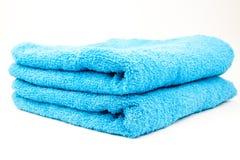 被堆积的毛巾二 免版税图库摄影