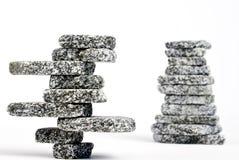 被堆积的石头 免版税图库摄影