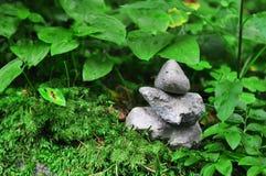 被堆积的石头 库存图片