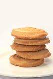 被堆积的脆饼 免版税图库摄影