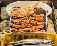 被堆积的螃蟹 免版税库存照片