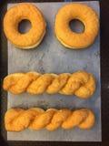 被塑造的多福饼 库存图片