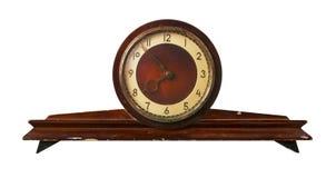被塑造的时钟做老苏联 免版税库存照片