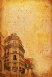 被塑造的法国老巴黎 库存图片