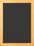 被塑造的空白黑板老 库存照片
