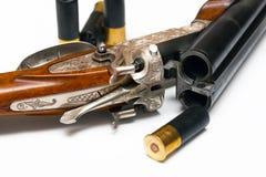 被塑造的老步枪 免版税图库摄影