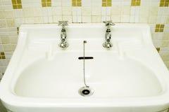 被塑造的老水槽 免版税图库摄影