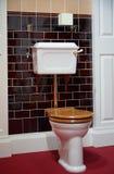 被塑造的老牌洗手间 免版税库存照片