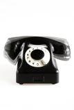 被塑造的老电话敲响 库存图片