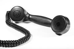 被塑造的老电话 库存图片